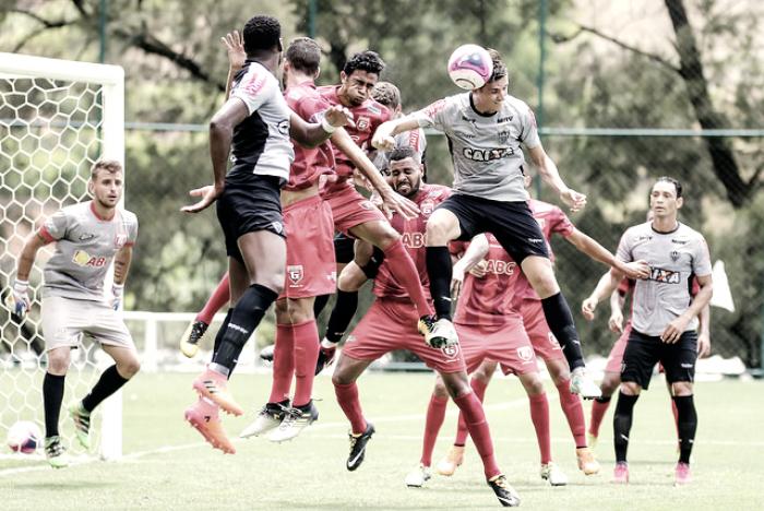Atlético vence Guarani em jogo-treino na Cidade do Galo