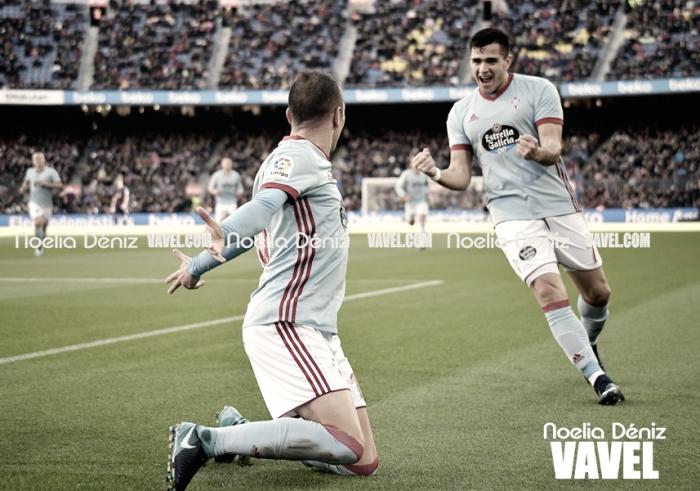 Barcelona - Celta: puntuaciones del Celta, jornada 14 de LaLiga Santander