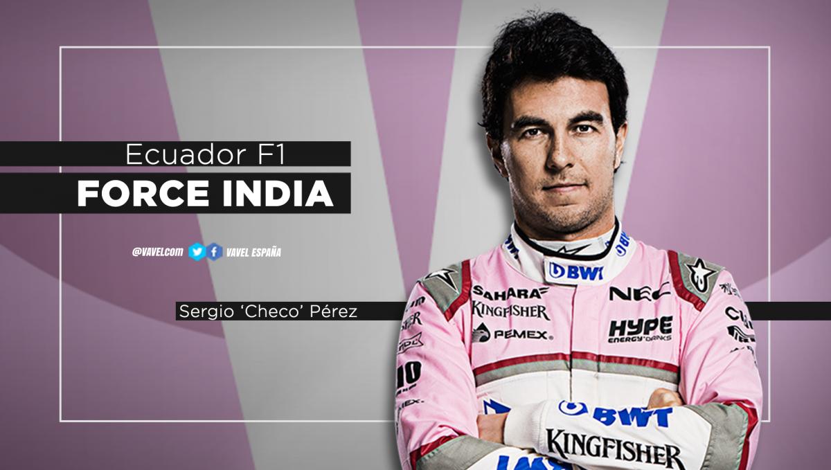 Ecuador Mundial F1: Sergio Pérez, incertidumbre hasta el final