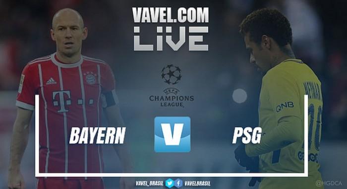 Resultado Bayern de Munique x Paris Saint-Germain na Uefa Champions League (3-1)