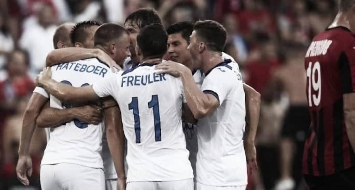 Atalanta goleia Hapoel Haifa e encaminha classificação para próxima fase da Europa League