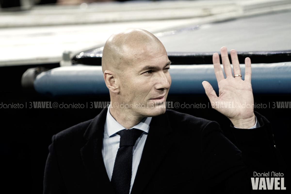 """Zidane: """"Es una eliminatoria importante para los dos equipos"""""""