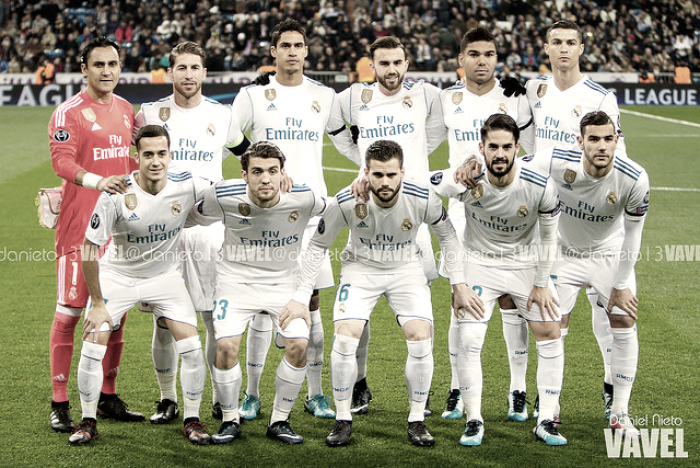 Puntuaciones: Real Madrid 3-2 Borussia Dortmund, fecha 6 Champions League 2017/18