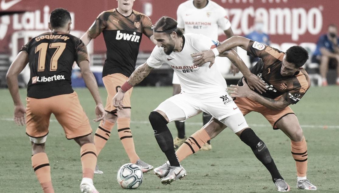 Resumen de Sevilla vs Valencia en Copa del Rey (3-0)