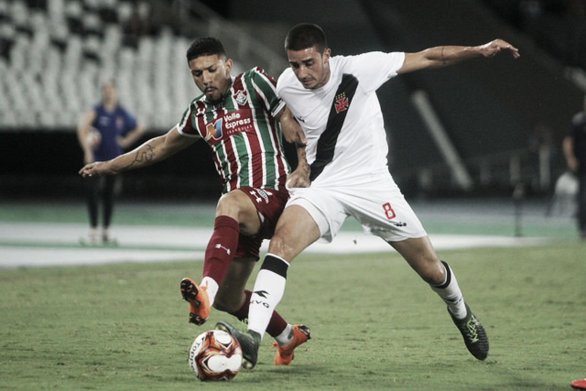 Vasco e Fluminense fazem jogo morno e empatam sem gols