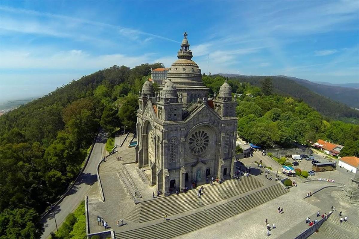 Volta: Enrique Sanz (Euskadi-Basque Country) triunfa no Santuário de Santa Luzia