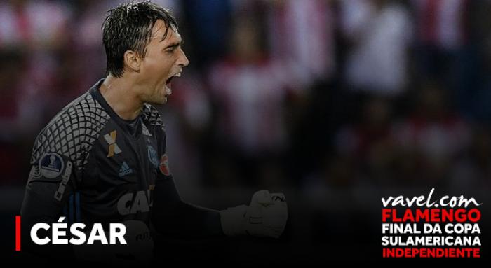 De quarto goleiro a titular: a trajetória de César na meta do Flamengo