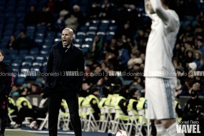 Jugar a domicilio en Copa, la especialidad de Zidane