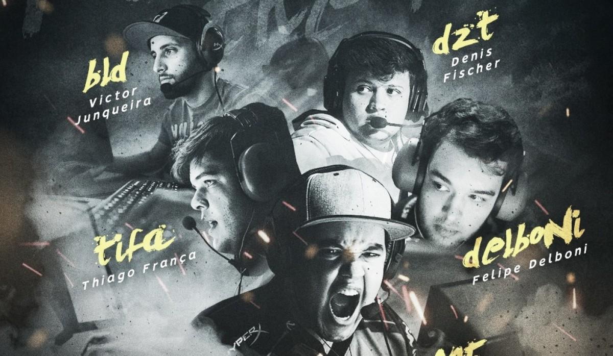 Santos e-Sports anuncia escalação de time masculino de CS:GO