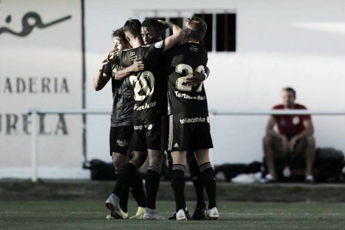 El Real Oviedo ilusiona en su último partido de pretemporada
