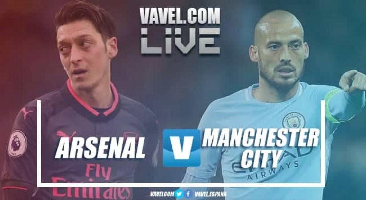 Resumen Arsenal 0-2 Manchester City en Premier League 2018