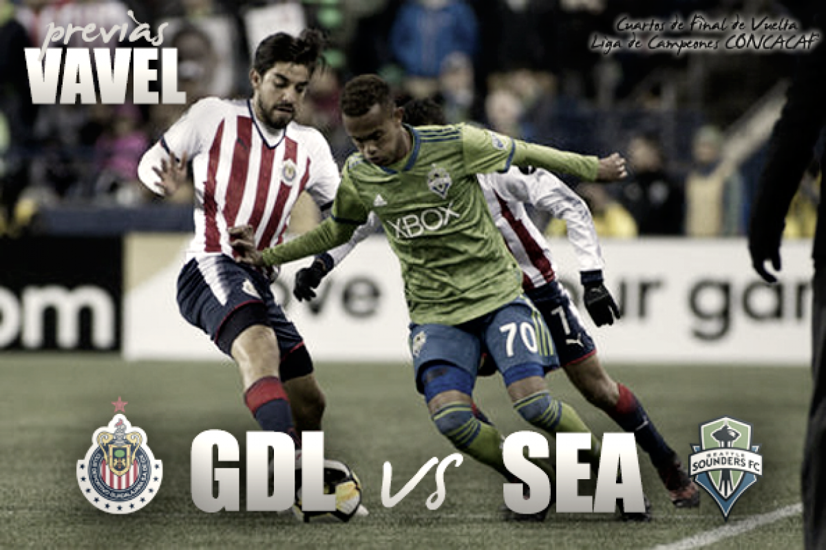 Previa Chivas - Seattle Sounders: un solo objetivo, remontar