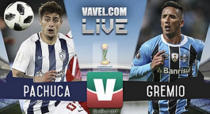 Resultado y goles del Pachuca 0-1 Gremio en la semifinal del Mundial de Clubes