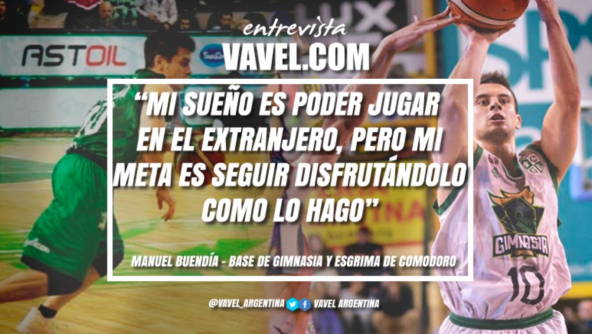 """Entrevista. Manuel Buendía: """"Tengo que seguir trabajando para superarme todos los días"""""""