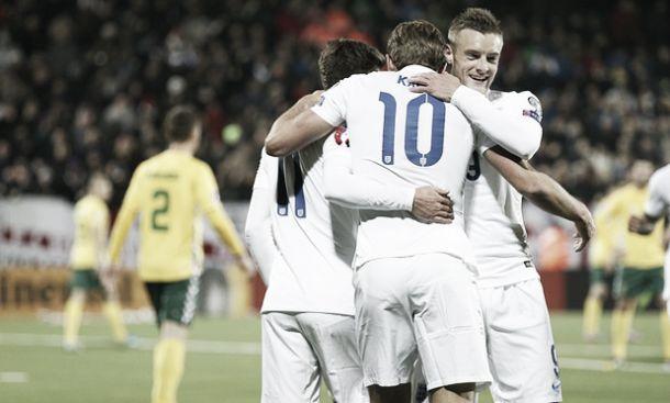 Qualificazioni Euro 2016: L'Inghilterra sa solo vincere, demolita 3-0 la Lituania