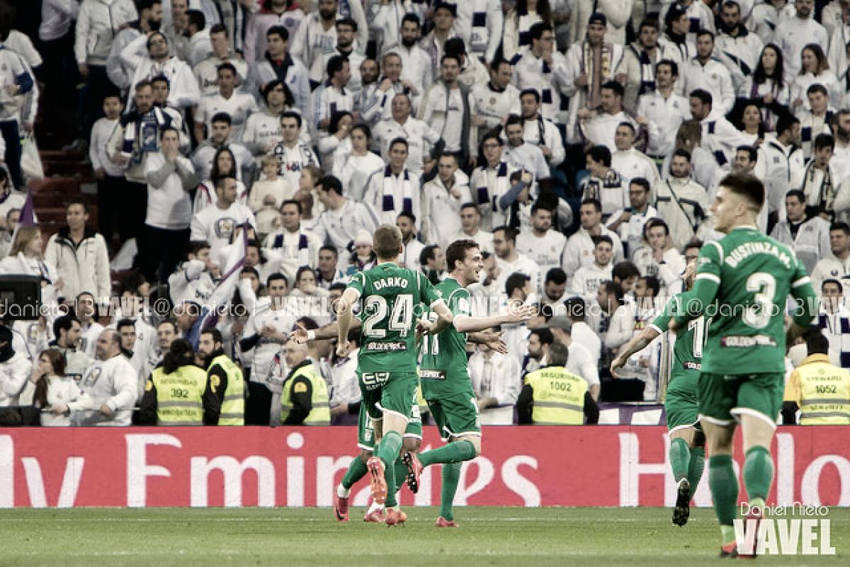 El Leganés recupera efectivos para el partido frente al Real Madrid