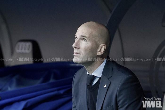 """Zinedine Zidane: """"Estoy contento porque conseguimos un buen resultado en un campo difícil"""""""
