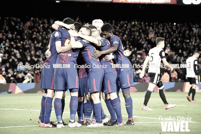 Valencia - Barcelona: puntuaciones del Barcelona, vuelta semifinales Copa del Rey 2018