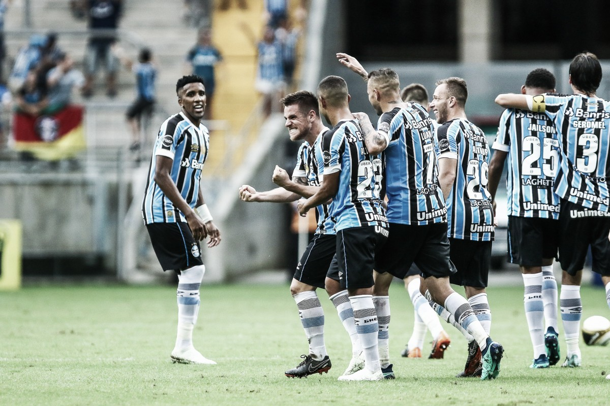 Grêmio faz quatro no Brasil de Pelotas e está com uma mão na taça do Campeonato Gaúcho