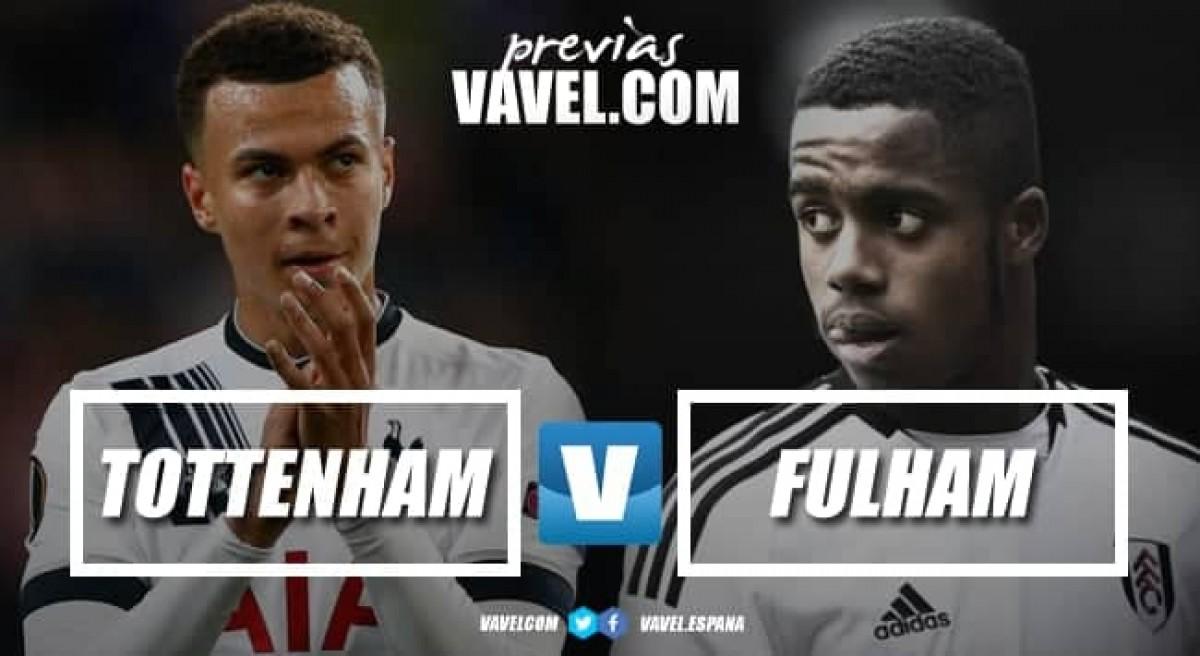 Previa Tottenham vs Fulham: ganar o descolgarse del objetivo