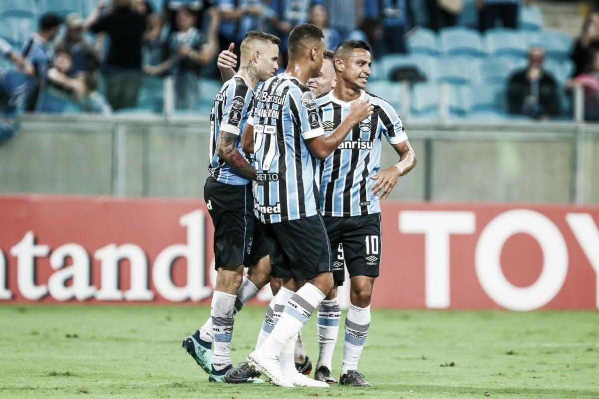 Notas: Everton é destaque gremista na goleada sobre Monagas pela Libertadores