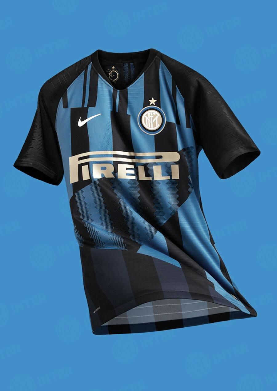 Internazionale lança novo uniforme comemorando parceria com a Nike