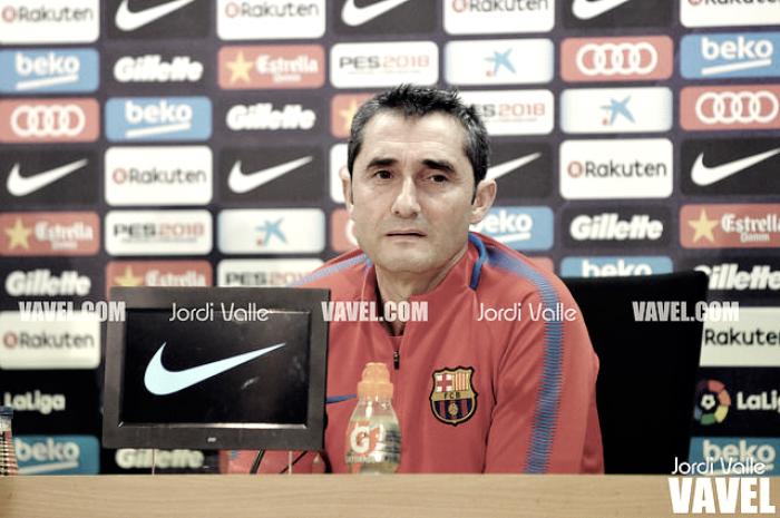 Ernesto Valverde: ''El Levante es un equipo muy ordenado''