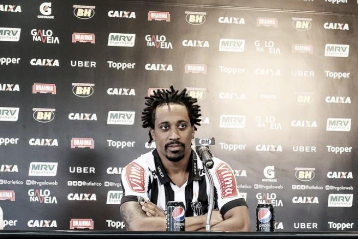 Arouca garante bom preparo físico e espera corresponder às expectativas no Atlético-MG