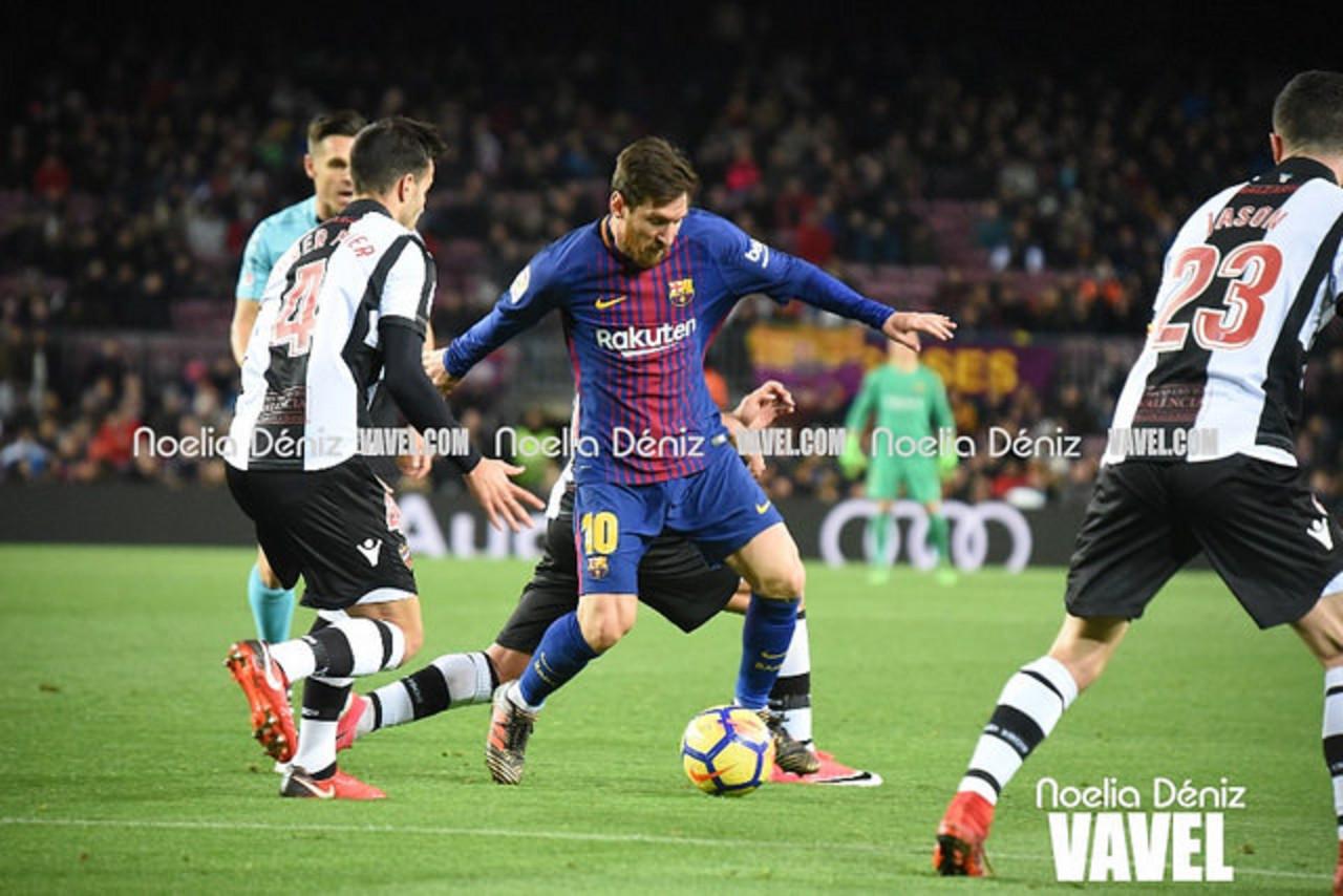 El Levante UD, rival del Barça en los octavos de Copa
