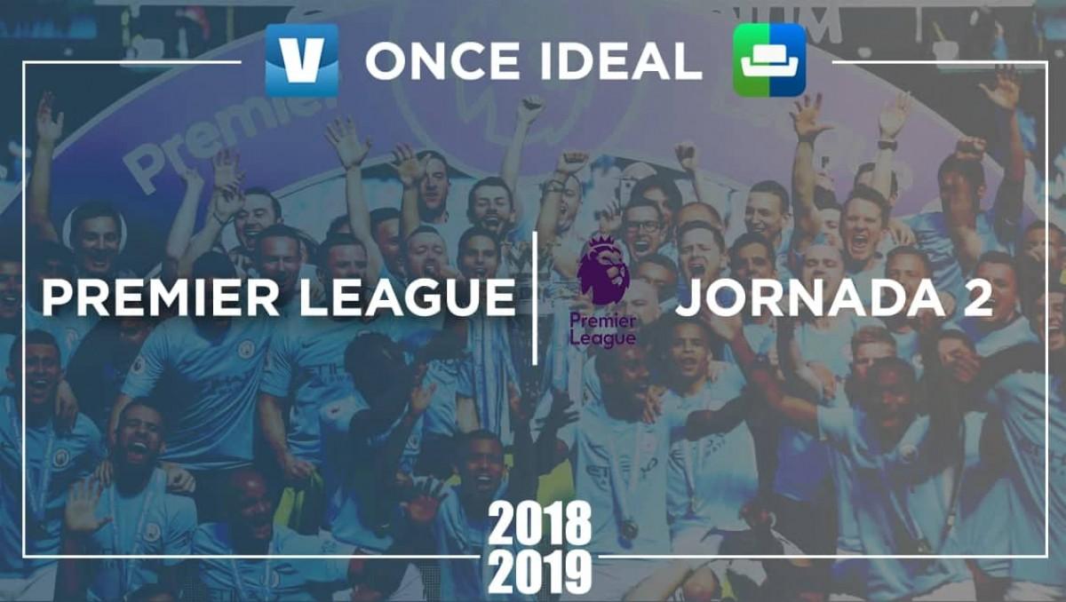 Once ideal Premier League Sofascore de la 2ª jornada: los defensas ...