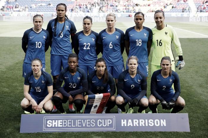 Seleção feminina da França é convocada para amistoso diante da Itália