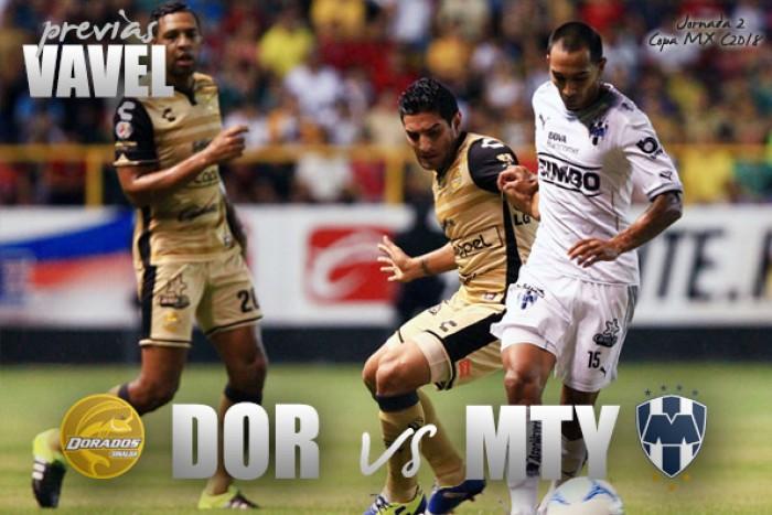 Previa Dorados vs Rayados: por el orgullo en Copa MX