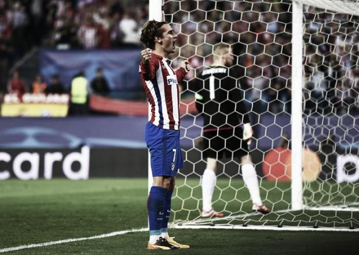 Champions League: Atletico solo 1-0 contro il Leicester. Decide Griezmann su rigore
