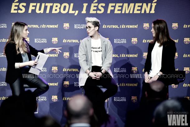 El Barça, femenino y plural