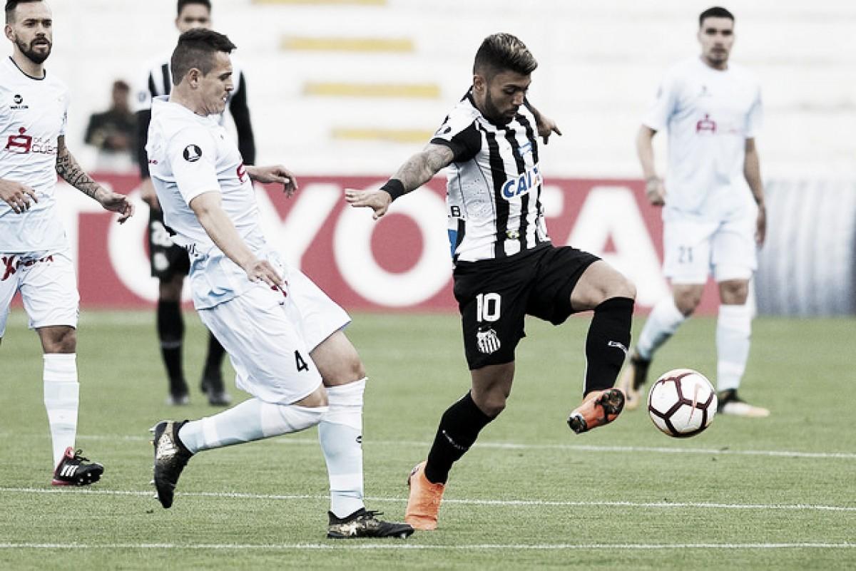 Resultado de Santos x Real Garcilaso pela Copa Libertadores da América 2018 (0-0)