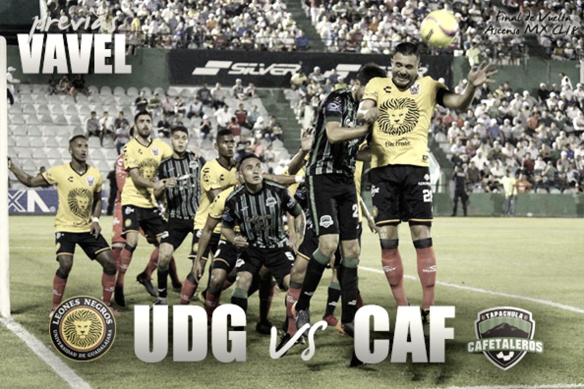 Previa Leones Negros U de G– Cafetaleros: medio boleto a primera división