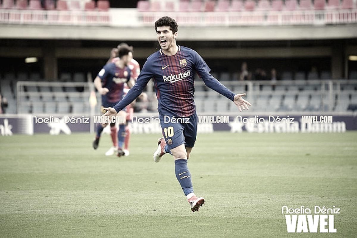 Resumen de la temporada 2017/18: Carles Aleñá, el mejor dentro del 'caos'