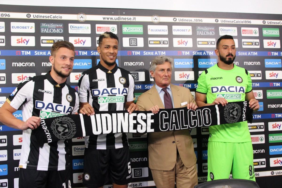 Udinese - Altro giorno di presentazioni, tocca a Ekong, Nicolas e ter Avest