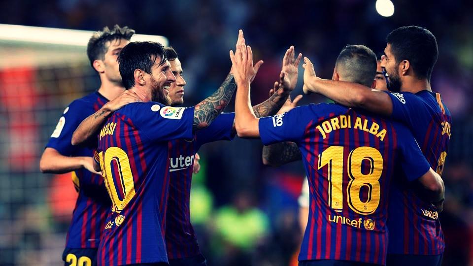 Barcelona vence Leganés e se mantém na liderança da La Liga