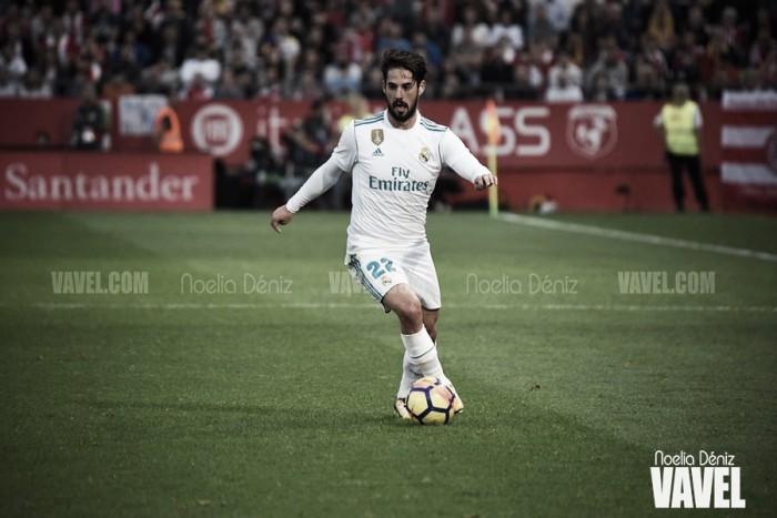 Zidane sentencia a Isco Alarcón