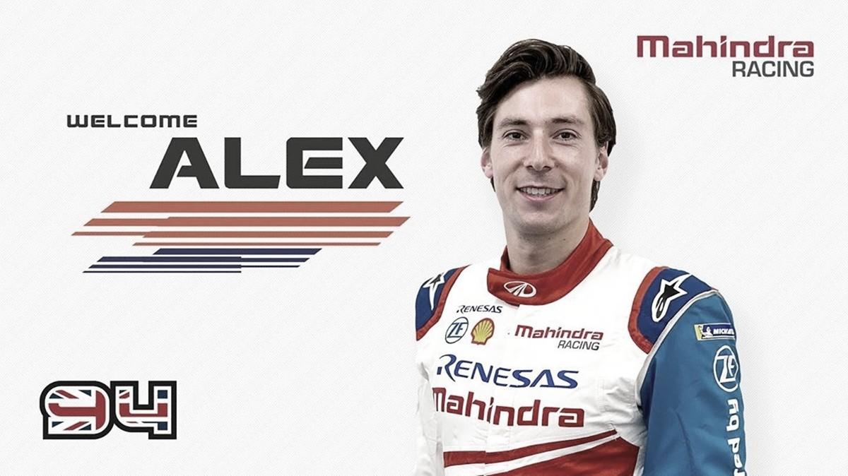 Na Fórmula E, Alex Lynn será o substituto de Pascal Wehrlein na Mahindra