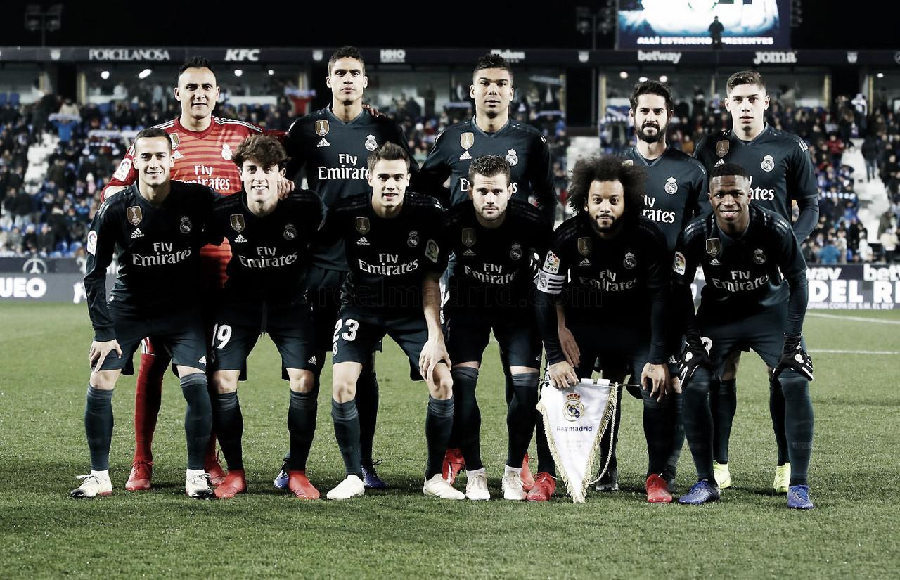 Estos son los 19 elegidos por Solari para enfrentar al Sevilla