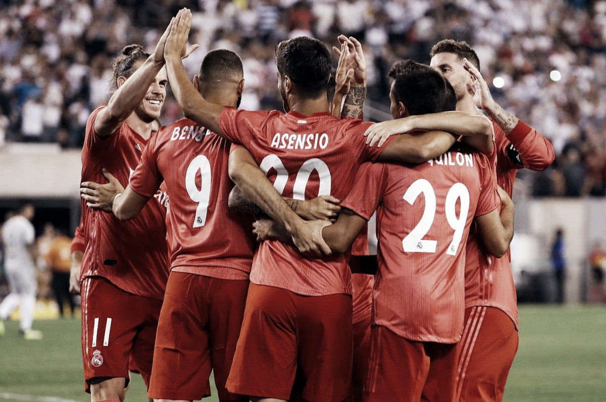 Resumen Real Madrid 2-1 Roma en International Champions Cup 2018