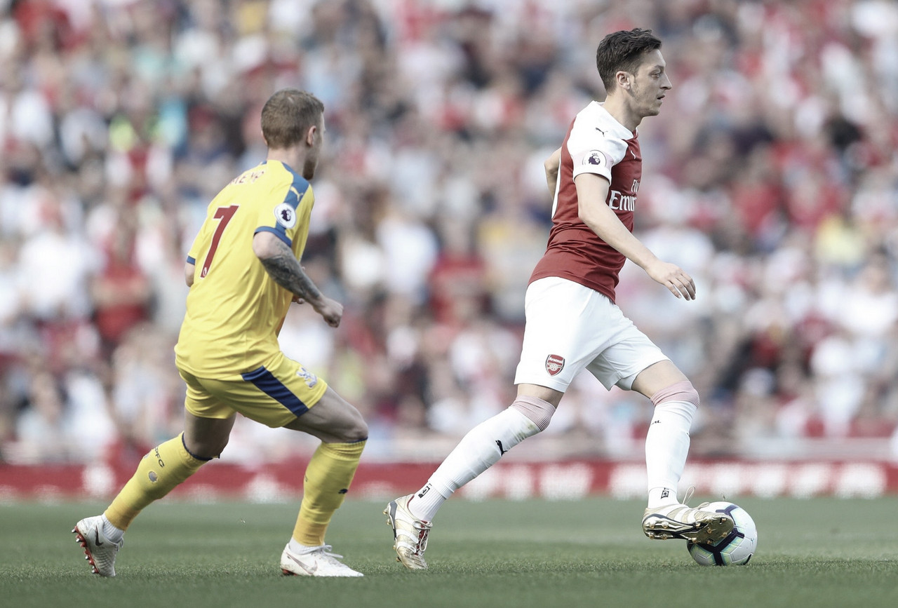 Crystal Palace domina e bate Arsenal pela Premier League