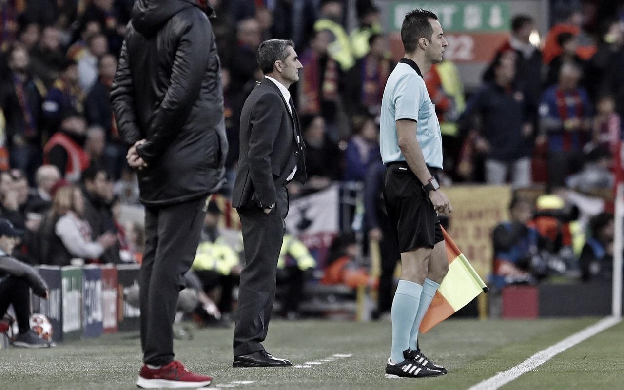 """Valverde lamenta eliminação do Barcelona na Champions League: """"Voltou a acontecer"""""""