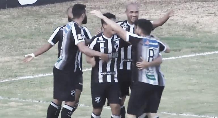 Ceará bate Sergipe e se mantém na ponta da Copa do Nordeste