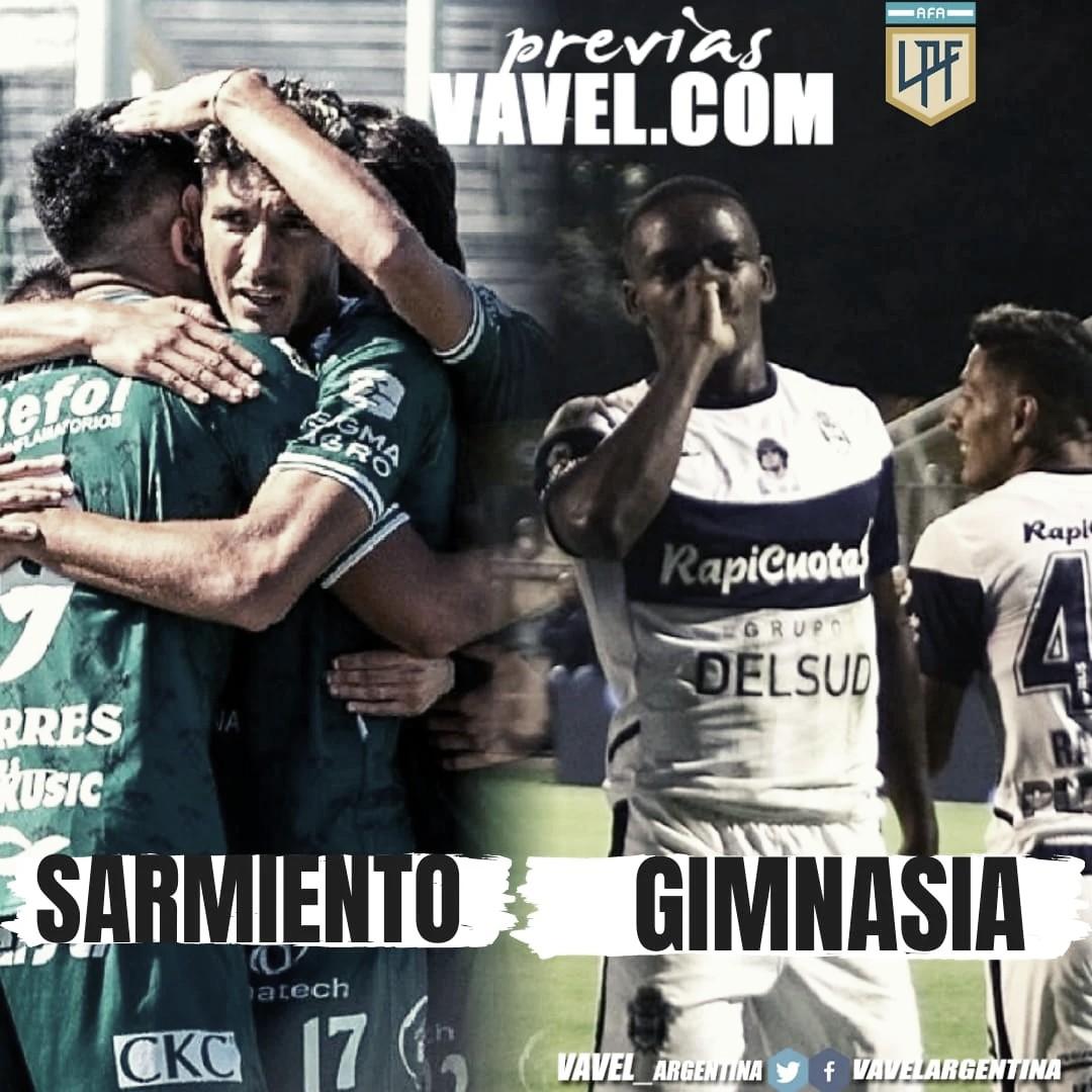 Sarmiento quiere recuperarse ante Gimnasia