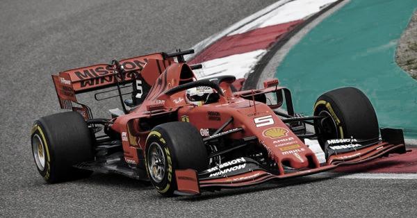 Vettel y Bottas dominaron el viernes chino