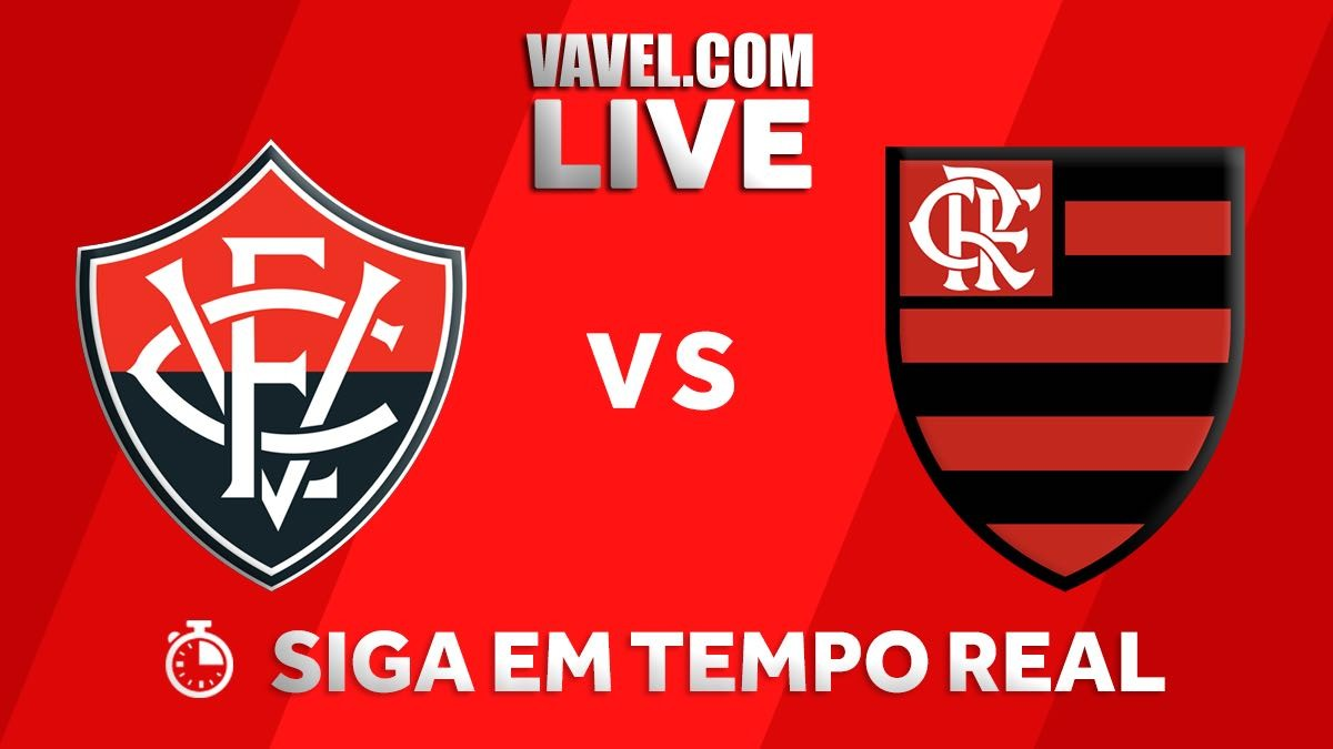 08dba9144af5f Resultado Vitória x Flamengo pelo Campeonato Brasileiro 2018 (2-2 ...