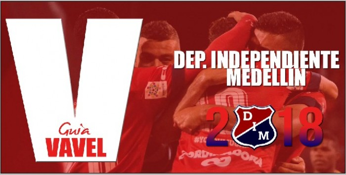 Guía VAVEL Liga Águila 2018-I: Deportivo Independiente Medellín